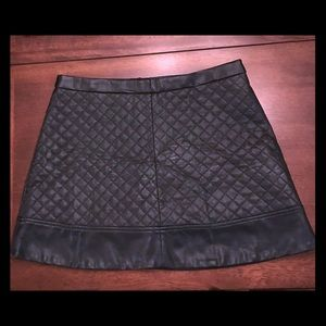 W118 by Walter Baker Leather Mini Skirt